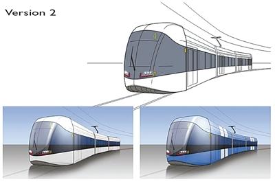 六盘水市中心城区新型有轨电车方案公示
